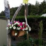 Garden Of Meeting Point at the Weir's Beach RV Resort in Victoria BC