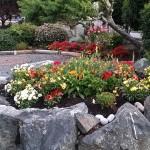 Garden of Weir's Beach RV Resort 2014. Victoria BC