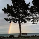 Infront of Weir's Beach RV Resort Victoria BC CAnada 2014