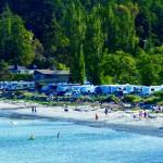 Ocean Front of Weir's Beach RV resort