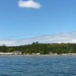 Weir's Beach RV Resort Ocean View in Victoria BC Canada 2014
