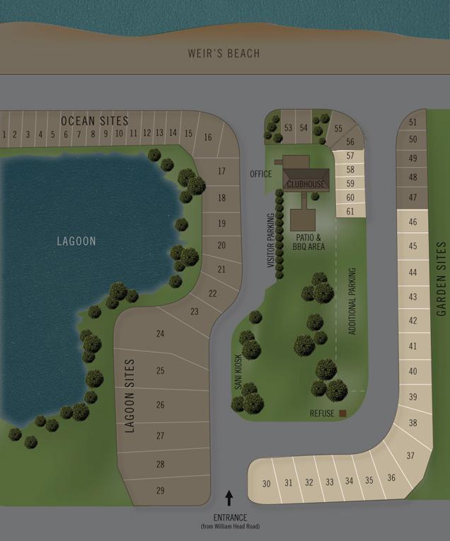 Rv Sites Weir 39 S Beach Rv Resort
