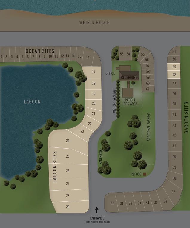 Rv Sites Weir S Beach Rv Resort