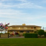 Clubhouse at Weir's Beach RV resort in Victoria BC